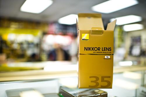 Nikon 35mm F1.4 Sample Images
