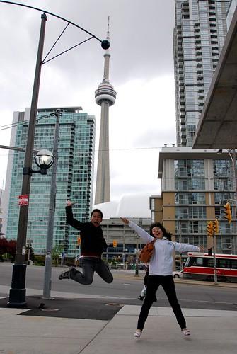 Tourist in Toronto