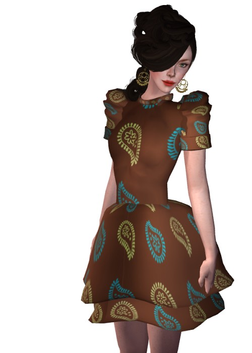 Group Gift Paisley Dress