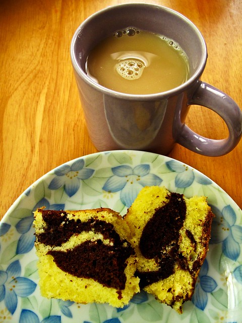 IMG_0941 Chocolate  marble cake and tea - tea break