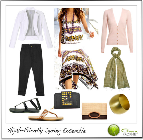 greenprophet Hijab Friendly Ethical Outfit - Spring