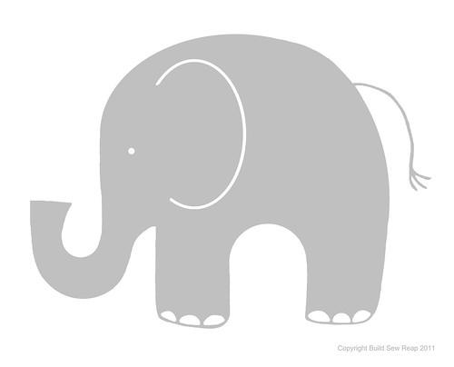 gray elephant free clip art - photo #24