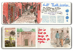 carnet marrakech 01 (emdé) Tags: dessin marrakech croquis carnetdevoyage traveldiary urbansketch emdé voyagitudes