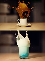 Splash! (jpphotographie.de) Tags: kaffee splash spash spritzer