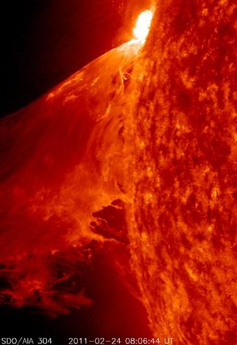 NASA's SDO Captures a Monster Prominence