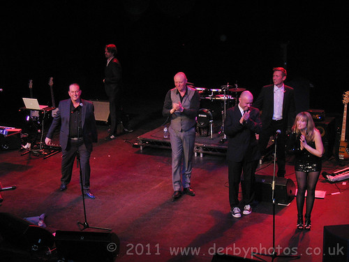 Heaven17 on stage at Buxton Opera House