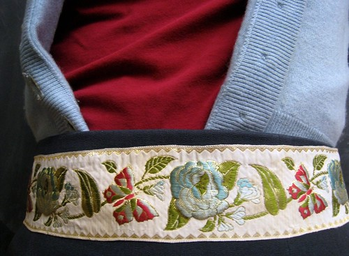 Ribbon Belt closeup