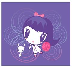Swirl Girl Lolligag (Lolligag World) Tags: artwork swirl moot lolligag