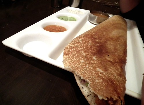"""spicy"" tofu dosa"