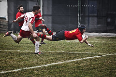 Rugby (Filippo Venturi) Tags: men boys sport photo foto mud rugby dirty match versus romagna ragazzi uomini sporco partita fango colorno campionato 20110213