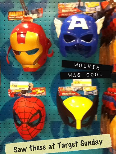 Ptw Marvel masks
