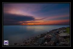Euphoria  (< teriyaki >) Tags: ocean light sunset sky cloud night canon point island king dusk mark australia brisbane ii wellington queensland 5d 14mm f28l ringexcellence