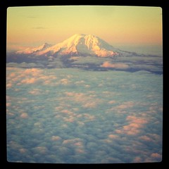 Taken from 20,000 feet, Mount Rainer near Seattle, Wa. Submitted to @shootingstar18 for the #shootingstar18clouds challenge. by ObieVIP