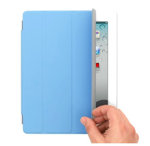 Apple - Smart Cover - Cover up, stand up, and brighten up your iPad.