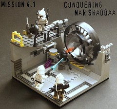 Nar Shaddaa 4.1 (Commander Hess) Tags: rain star lego corps wars clone legion nar 55th 2011 457th shaddaa