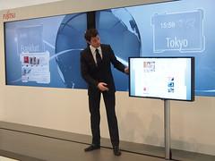 009_CeBIT_Blog_Fujitsu-20110301-085921 (Fujitsu_DE) Tags: cebit halle2 cebitblog erstertag cebit2011 cebit11 cebitfujitsu