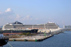 Cruise ship - MSC Poesia (blmiers2) Tags: cruise nikon ship cruiseship mscpoesia d3100 blm18 blmiers2