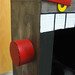 Red Robot - Face 3 qtr. Detail