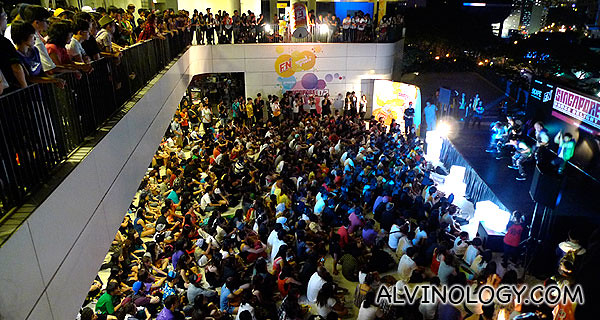 Over 1000 youths were gathered at Scape for the Singapore Dance Delight Vol. 2 Prelims