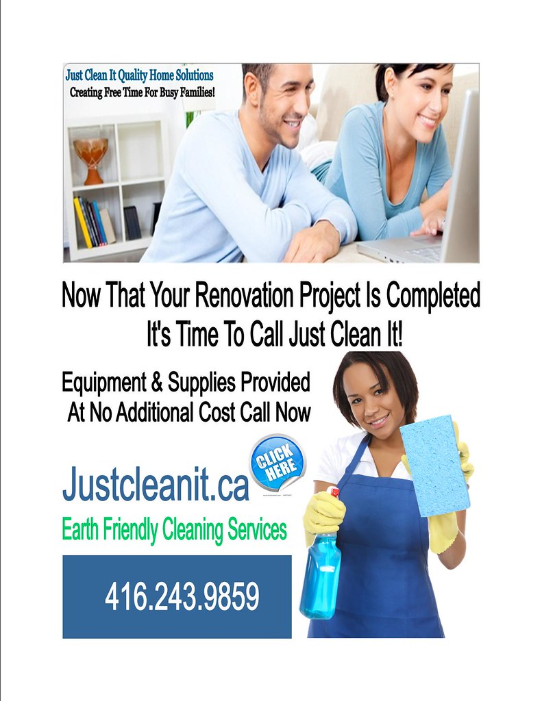 Post Renovation Cleaning Toronto