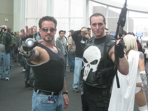 Tony Stark and Punisher