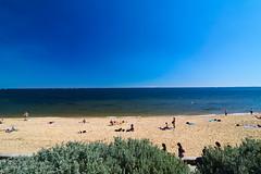 Day56 : Brighton Beach (BeAsT#1) Tags: house holiday beach canon kiss brighton working australia melbourne victoria vic visa  x3 500d  2011 whv