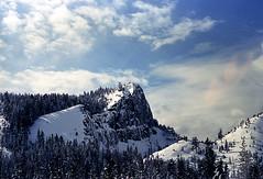 Mountain Top (bhop) Tags: california lake mountains film self 50mm diy nikon kodak tahoe f100 100 f18 developed ektar unicolor