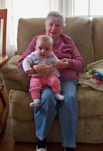 Phoebe and her Great Grandma