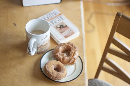 murder + donuts