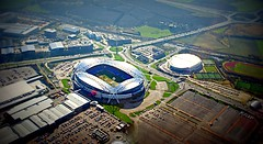 Reebok Stadium, from the air, Bolton Wanderers Football Club (fragglehunter aka Sleepy G) Tags: uk england english photography northwest air flight aerial lancashire bolton bwfc microlight aerialphotography horwich reebok middlebrook ctsw boltonwanderersfootballclub cstw sleepyg mygearandme fragglehunter jonhilton sleepygphotography ukaerialphotography aerialphotographyunitedkingdom