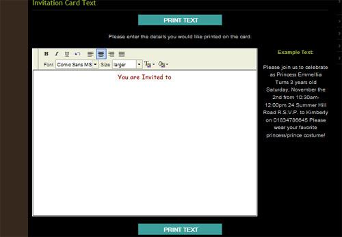 Card Editing Module