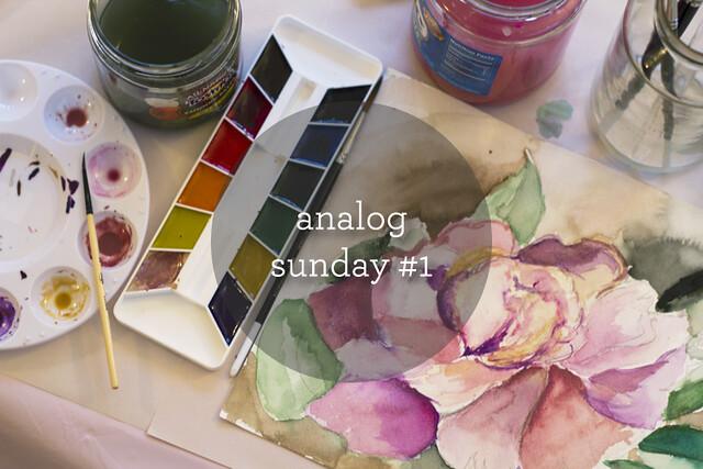 analog sunday #1