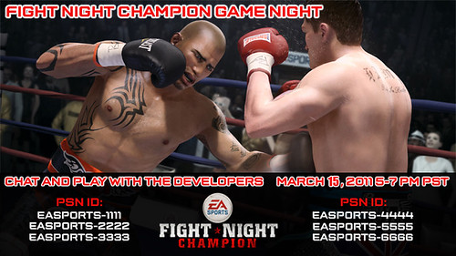 Fight Night Champion PlayStation Home