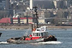 Seaspan Prince (rog45) Tags: canon bc sigma chips 7d tugboat tug 50500 fraser barge fraserriver seaspan woodchips rog45 seaspanprince