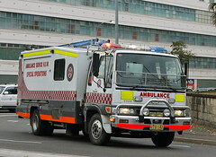 Ambulance Service NSW Special Operations Hino (Highway Patrol Images) Tags: rescue highway omega ambulance falcon toyota commodore emergency incident patrol camry afp response yamaha1300 nswfirebrigades nswpoliceforce ambulanceservicensw nswpolicefireambulance australianfederal xr6tssholdenfordscaniavarley