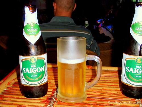 Bia Saigon, Ho Chi Minh City Vietnam