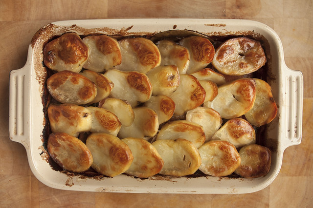 Slow Cooked Vegetarian Lancashire Hotpot