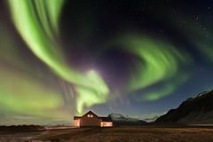 Islandia (Para Enrique Pacheco y John Paul )   (Islandia) (martin zalba) Tags: stars star iceland islandia aurora isla estrella boreal