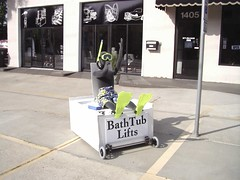 Buddy in Tub 002 (Access2MobilityTX) Tags: home wheel ada chair ramp stair texas aids lift conversion tx wheelchair elevator systems scooter ramps tyler east elder disabled vehicle scooters access vans van braun care pt minivan transfer supplies handicap handicapped adapted mobility disabilities wheelchairs ability disability adaptive accessible compliant access2mobility