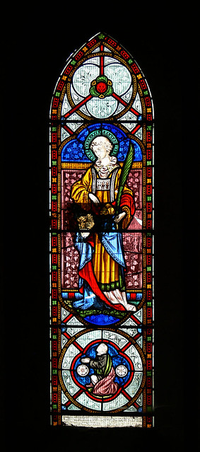 St Stephen - Avon Dassett Hardman Stained glass