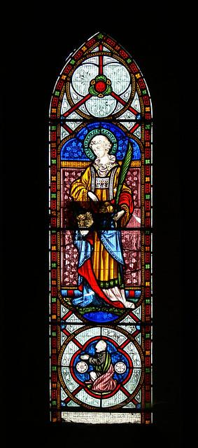 St Stephen - Avon Dassett Hardman Stained glass