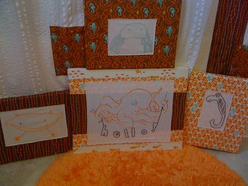 March Stitch Along: The Bathroom Set