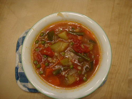 minestrone soup from Cook This Not That