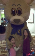 Posing with Gaylord Opryland Bear