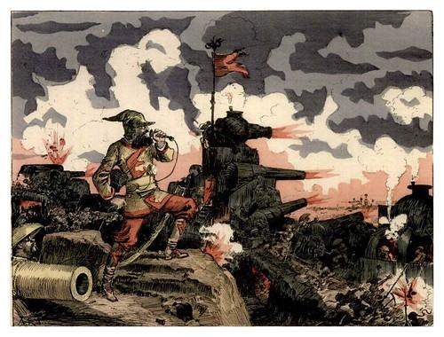 021-Los corresponsales de guerra-Le Vingtième Siècle 1883- Albert Robida