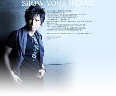 110315 - 為日本災民祈福!人氣歌手「GACKT」和藝能界好友們一同成立慈善基金「SHOW YOUR HEART」並舉辦慈善募款!