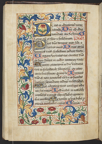 Book of Hours, Use of Carmel, f.66v (157 x 110 mm), ca.1511, MSR-11