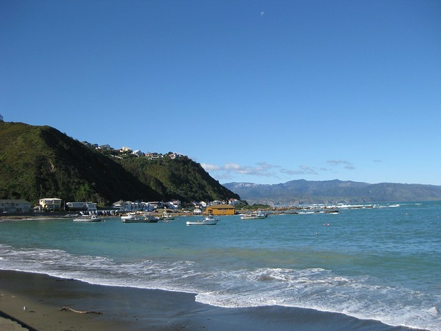 Island Bay, Wellington, New Zealand