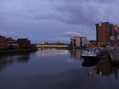 The River Lagan Belfast
