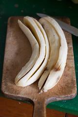 Banaanikoogi tegemine / Making of banana cake